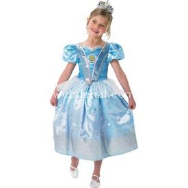 Rubies Prenses Cinderella Çocuk Kostüm 5-6 Yaş Glitter Kostüm & Aksesuar