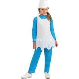 Rubies Şirinler Şirine Klasik Çocuk Kostümü 5-6 Yaş Kostüm & Aksesuar