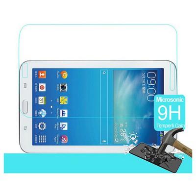 Microsonic Samsung Galaxy Tab3 7.0'' T210 Temperli Cam Ekran Koruyucu Kırılmaz Film Ekran Koruyucu Film