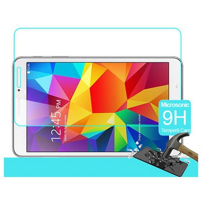 Microsonic Samsung Galaxy Tab4 8.0'' T330 Temperli Cam Ekran Koruyucu Kırılmaz Film Ekran Koruyucu Film