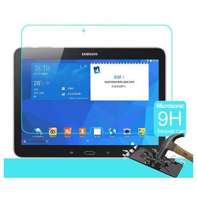 Microsonic Samsung Galaxy Tab4 10.1'' T530 Temperli Cam Ekran Koruyucu Kırılmaz Film Ekran Koruyucu Film