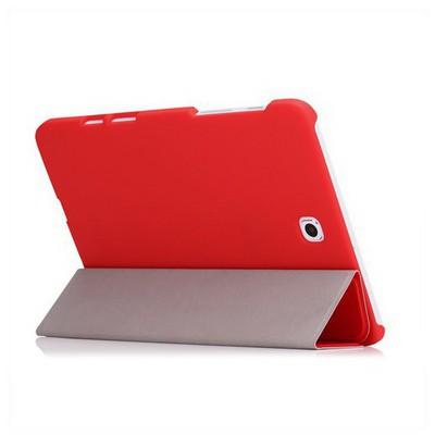 Microsonic Samsung Galaxy Tab S2 8.0'' Smart Case Ve Arka Kılıf Kırmızı Tablet Kılıfı