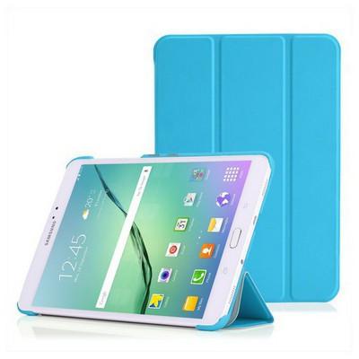 Microsonic Samsung Galaxy Tab S2 8.0'' Smart Case Ve Arka Kılıf Mavi Tablet Kılıfı