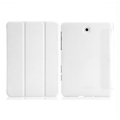 Microsonic Samsung Galaxy Tab S2 8.0'' Smart Case Ve Arka Kılıf Beyaz Tablet Kılıfı