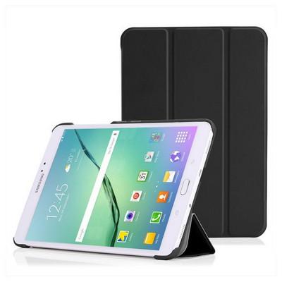 Microsonic Samsung Galaxy Tab S2 8.0'' Smart Case Ve Arka Kılıf Siyah Tablet Kılıfı