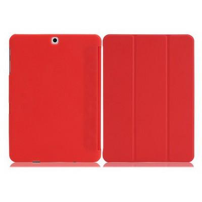 Microsonic Samsung Galaxy Tab S2 9.7'' Smart Case Ve Arka Kılıf Kırmızı Tablet Kılıfı