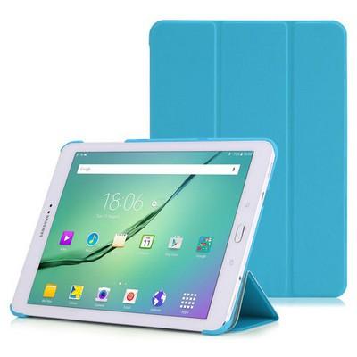 Microsonic Samsung Galaxy Tab S2 9.7'' Smart Case Ve Arka Kılıf Mavi Tablet Kılıfı