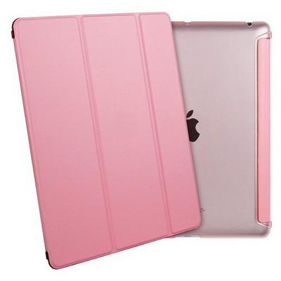 Microsonic Ipad 2/3/4 Smart Case Ve Arka Koruma Kılıf Pembe Tablet Kılıfı