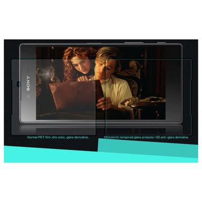 Microsonic Sony Xperia Z5 Premium Temperli Cam Ekran Koruyucu Ön + Arka Ekran Koruyucu Film