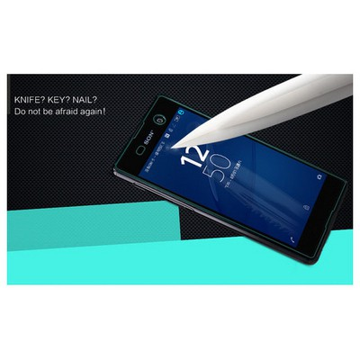 Microsonic Sony Xperia M5 Temperli Cam Ekran Koruyucu Ön + Arka Ekran Koruyucu Film