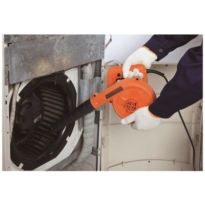 Black & Decker Bdb530 530w Üfleme Ve Emme Makinası Toplayıcı Üfleyici