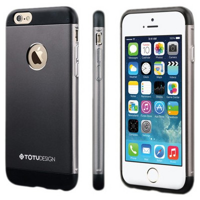 Microsonic Totu Design Knight Series Iphone 6s Plus Kılıf Black Cep Telefonu Kılıfı