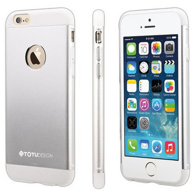 Microsonic Totu Design Knight Series Iphone 6s Plus Kılıf White Cep Telefonu Kılıfı
