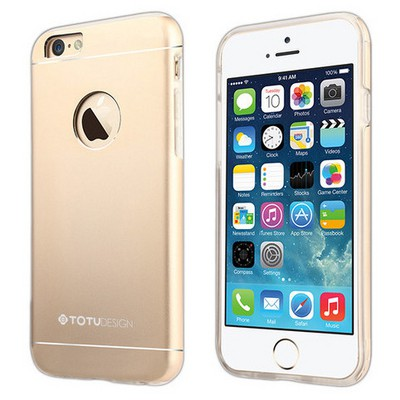 Microsonic Totu Design Jaeger Series Iphone 6s Plus Kılıf Gold Cep Telefonu Kılıfı
