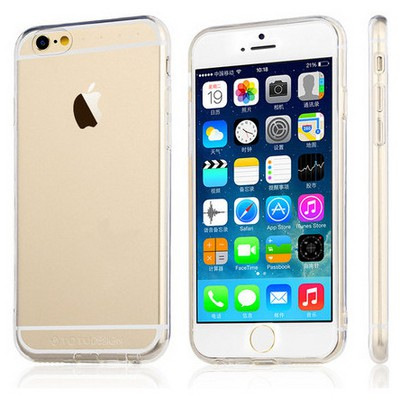 Microsonic Totu Design Soft Series Transparant Thin Iphone 6s Plus Kılıf Clear Cep Telefonu Kılıfı