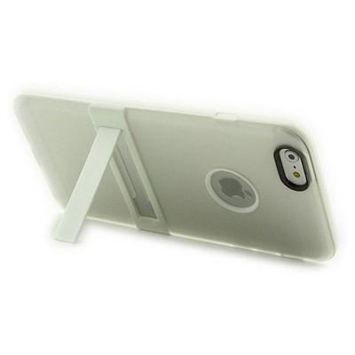 Microsonic Standlı Soft Iphone 6s Plus (5.5'') Kılıf Beyaz Cep Telefonu Kılıfı