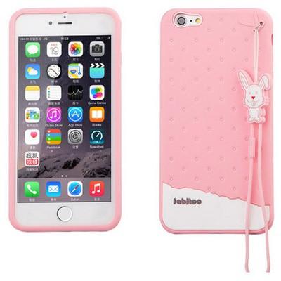 Microsonic Fabitoo Iphone 6s Plus Candy Kılıf Pembe Cep Telefonu Kılıfı