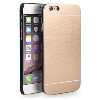 Microsonic Iphone 6s Kılıf Hybrid Metal Gold Cep Telefonu Kılıfı