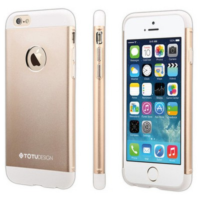 Microsonic Totu Design Knight Series Iphone 6s Kılıf Gold Cep Telefonu Kılıfı