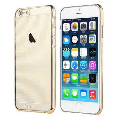 Microsonic Totu Design Breeze Series Iphone 6s Kılıf Gold Cep Telefonu Kılıfı