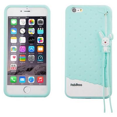 Microsonic Fabitoo Iphone 6s Candy Kılıf Turkuaz Cep Telefonu Kılıfı