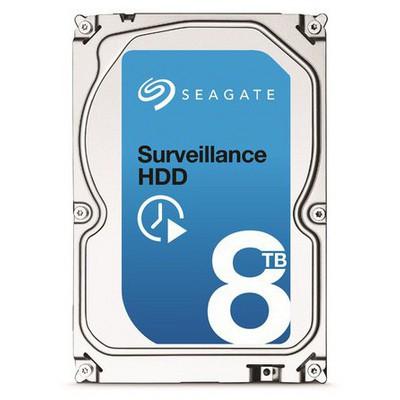 Seagate 8TB Surveillance Hard Disk - ST8000VX0002