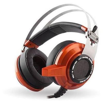Snopy SN-RW3T Rampage SN-RW3 USB 7.1 Titreşimli Oyuncu Turuncu Mikrofonlu Kulaklık