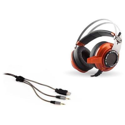 Rampage SN-RW3T Rampage SN-RW3 USB 7.1 Titreşimli Oyuncu Turuncu Mikrofonlu Kulaklık Kafa Bantlı Kulaklık