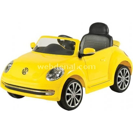 Sunny Baby W486qht Beetle Sarı Akülü Arabalar
