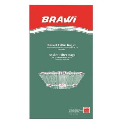 Brawi Filtre  Kağıdı 90 X 250 Mm 250 Adet Kahve