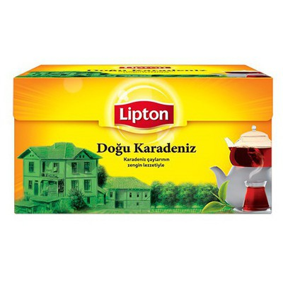 Lipton Doğu Karadeniz Demlik  Bergamot Aromalı 100 Adet Poşet Çay