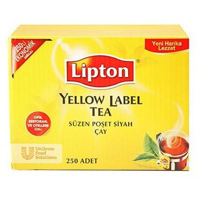 Lipton Yellow Label Bardak  250'li Ekonomik Ambalaj Poşet Çay