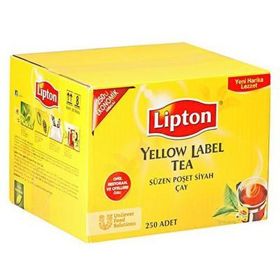 Lipton Yellow Label Bardak  Ekonomik Ambalaj 250 Adet Poşet Çay