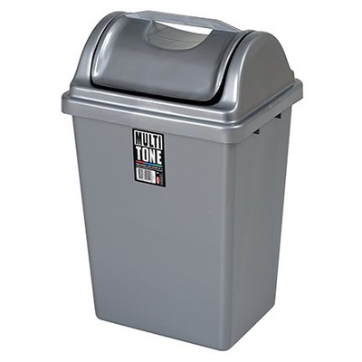 Bora Plastik Çöp Kovası Itmeli 7.5 L No:2 Model Bo190 Çöp Kovaları