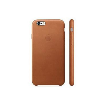 Apple Iphone 6s Için Deri Kılıf - Klasik Kahve Cep Telefonu Kılıfı