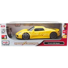 Maisto Tech Porsche 918 Spyder Uzaktan Kumandalı Araba 1:14 Sarı Arabalar