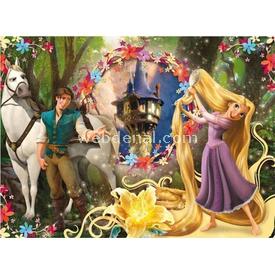 Clementoni 104 Parça Çocuk  Rapunzel Puzzle