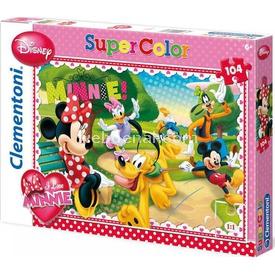 Clementoni 104 Parça Çocuk  Seni Seviyorum Minnie Puzzle