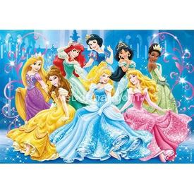 Clementoni 104 Parça Çocuk  Brilliant Disney Prenses Puzzle