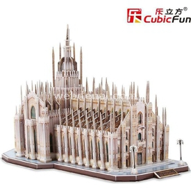 Cubic Fun Duomo Di Milano Katedrali (italya) Puzzle