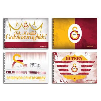 Keskin Color 35 X 50 Cm Galatasaray 15 Yaprak Resim Defteri Galatasaray Ürünleri