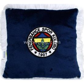Fenerbahçe Lisanslı Logolu Minik Kare Yastık Lacivert Peluş Oyuncaklar