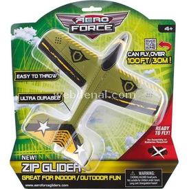 Evrensel Oyuncak Aero Force Zip Glider Uçak Model 2 Erkek Çocuk Oyuncakları