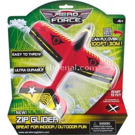 Evrensel Oyuncak Aero Force Zip Glider Uçak Model 1 Erkek Çocuk Oyuncakları