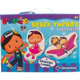 Clementoni Edubaby Bebek Puzzle Pepee Eğitici Oyuncaklar