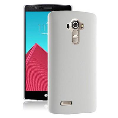Microsonic Lg G4 Beat (g4s) Kılıf Premium Slim Beyaz Cep Telefonu Kılıfı