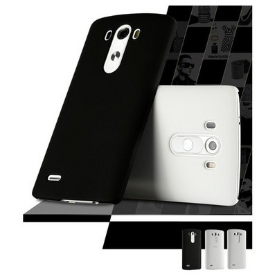 Microsonic Lg G4 Beat (g4s) Kılıf Premium Slim Siyah Cep Telefonu Kılıfı