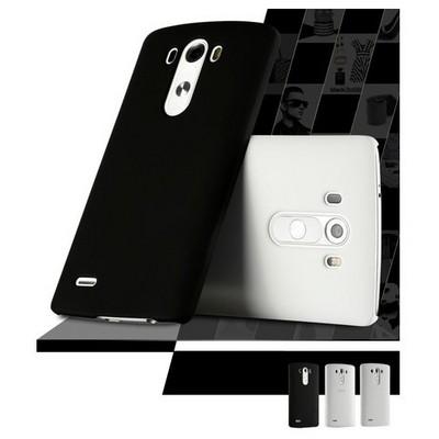 Microsonic Lg G4 Stylus Kılıf Premium Slim Beyaz Cep Telefonu Kılıfı
