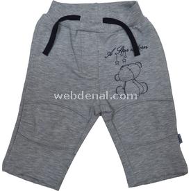 Bebetto T805 Penye Bebek Pantolonu Gri 6-9 Ay (68-74 Cm) Pantolon & Şort