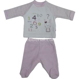 Baby Center 68235 Kadife Patikli Kız Bebek Pantolonu Pembe 0 Ay (50-56 Cm) Kız Bebek Pijaması